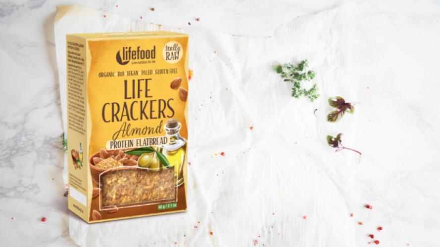Nieuw: een cracker voor broodliefhebbers!