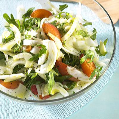 Salade met Venkel en Abrikozen