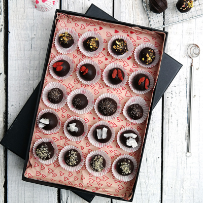 Hartstochtelijke Chocolade Truffels