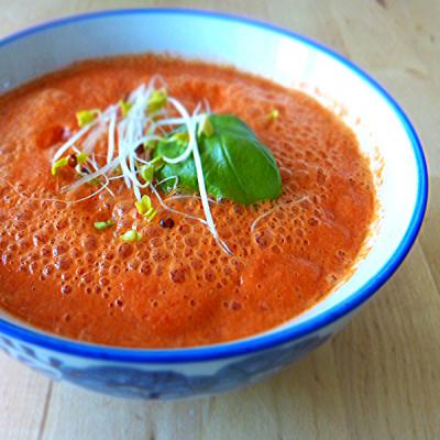 Detox soep tomaat-paprika