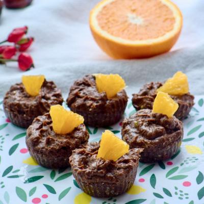 Cupcakes met Avocado-crème