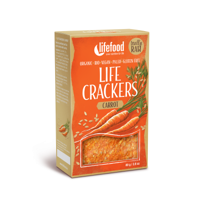 Life Crackers Wortel RAW & BIO