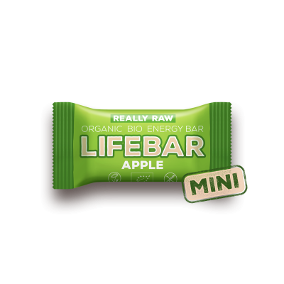 MINI Lifebar Energiereep Appel RAW & BIO