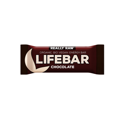 Lifebar Energiereep Chocolade RAW & BIO
