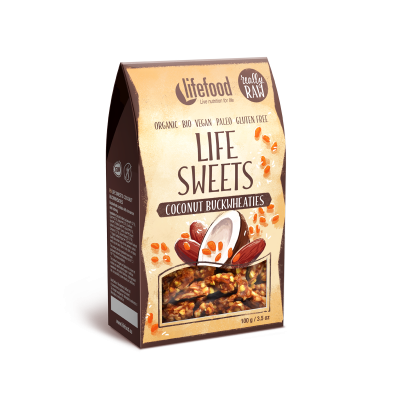 Life Sweets Kokos Boekweit RAW & BIO