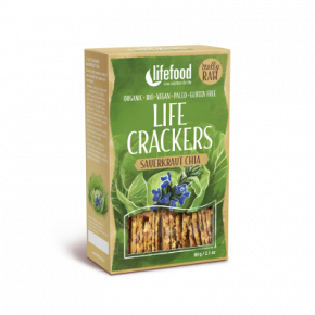 Life Crackers Zuurkool Chia RAW & BIO