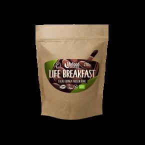 Life Breakfast Cacao Quinoa Proteïne Mix RAW & BIO
