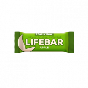 Lifebar Energiereep Appel RAW & BIO