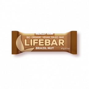 Lifebar Energiereep Brazil RAW & BIO