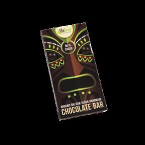 Rauwe Chocolade 80 % Cacao BIO 70 g