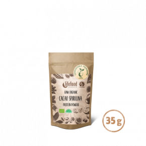 Superfood Proteïnepoeder Cacao Spirulina RAW & BIO 35 g