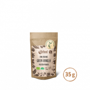 Superfood Proteïnepoeder Green Vanilla RAW & BIO 35 g