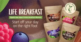 Ontbijt vol energie en klaar binnen 1 minuut
